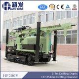 Capacidad fuerte, plataforma de perforación hidráulica del receptor de papel de agua de Hf200y DTH