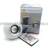 LED RGB WiFi música inteligente chama de som Alto-falantes Lâmpada Bluetooth