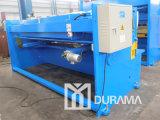 Máquina de corte de feixe de rotação hidráulica QC12y (Estun E21 NC Controller)