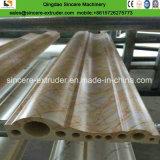 A pedra de mármore artificial do PVC perfila a linha de produção que faz a máquina