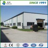 Edificio prefabricado del taller del almacén de la estructura de acero en África