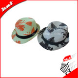 Sombrero del sombrero de ala, sombrero de papel, sombrero de paja, sombrero de la manera