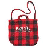 Tissu de coton de Shopping personnalisé de gros sac à cordonnet sac de coton organique promotionnel avec logo imprimé