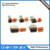 Conector impermeable automático con bloqueo de la WPS