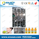 Twist Metal Cap Filling Machine를 가진 과일 Juice Glass Bottle
