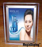 Cadre Photo en acrylique à LED de la publicité