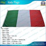 90X180cm filés de polyester 160gsm Italie Drapeau (NF05F09008)