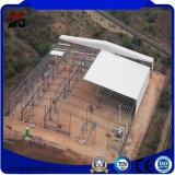 Estructura de acero ancha grande de la prueba de fuego Q235 con el certificado del Ce