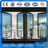Revêtement en poudre Rocky populaire en grès gris Fenêtre en aluminium