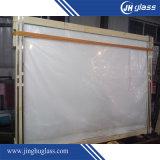 vidro pintado branco de 5mm com tamanho padrão