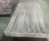 Matériau de base en nid d'abeille en aluminium pour panneaux sandwich en nid d'abeille (HR C011)