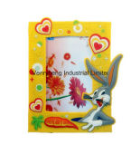 Ruber PVC Fridge Magnet Photo Frame