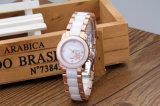 Los relojes de manera impermeabilizan los relojes de cerámica de alta calidad