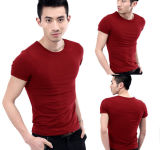 Новый высококачественный хлопок спандекс футболка заводе прямой продажи