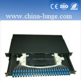 1u Rack Mounted Sc 24 Port Fiber Optic Patch Panel