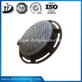 Tampas articuladas/seladas do dobro ferro moldado/feito de En124 de areia da carcaça de câmara de visita (B125/C250/D400)