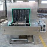 Machine de lavage et de séchage de caisse industrielle