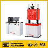Machine de test de tension universelle d'acier hydraulique de Rebar de gestion par ordinateur Waw-600d