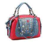 Novo design elegante mala a tiracolo em pele Tote Bags