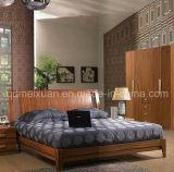 Кровати твердой деревянной кровати самомоднейшие двойные (M-X2296)