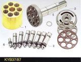 Pièces de rechange hydrauliques de pompe à piston de Kayaba Psvd-21e/26e/27e Kyb37/97 et pièces de réparation