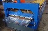 ステンレス鋼材料が付いている台形屋根ふきのシート成形機械