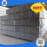 Tubulação Q235 quadrada pre galvanizada com comprimento de 5.8m