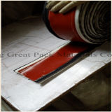 Coperta rivestita del fuoco di lotta antincendio di vetro di fibra della gomma di silicone