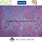 熱い販売の標準的な55%Polyester 45%Viscoseのジャカードライニング