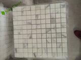 De passende Witte Marmeren Tegels van het Mozaïek 24X24