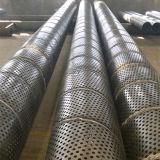 8 мм размер отверстия перфорированной стальной корпус трубки/трубы для скважин