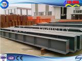 Viga soldada/columna de H para el edificio prefabricado de la estructura de acero