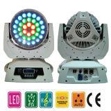36PCS*10W LEDの移動ヘッドライト--ズームレンズ