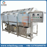 Máquina de lavar dos sacos do empacotamento plástico de cilindro giratório