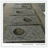 De Bovenkanten van de Ijdelheid van het Graniet van het Zinkwit