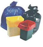 HDPE Plastic Star Seal Trash Bag on Roll