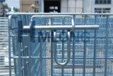 Grande contenitore piegante rigido saldato della rete metallica