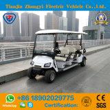 Carro de golfe elétrico dos assentos do clássico 8 com certificado do Ce