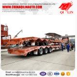 Remorque inférieure de camion de chargeur d'essieux triples avec la suspension mécanique