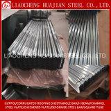 Folha de telhado de ferro ondulado para materiais de construção