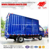 Tonelada Gvw Mini Box Van Truck de Foton 4X2 4 para la venta