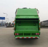 Petit Sinotruk 4 tonnes à 5 tonnes d'ordures de compresse du camion 4 de m3 de compacteur de camion d'ordures