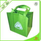Sacchetto di acquisto non tessuto riutilizzabile dell'OEM pp di Eco della drogheria di promozione