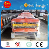 China-Hersteller-Stahldach-Blatt-Rolle, die Maschine bildet
