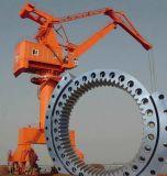 Rolamentos do anel do giro com o diâmetro usado para os guindastes portuários, guindaste de 4400mm do porto, guindaste marinho