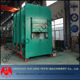 Type de trame automatique de la plaque de caoutchouc de la vulcanisation durcissement hydraulique avec l'ISO de presse