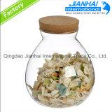 Glasglas-Glasflaschen-Behälter-Nahrungsmittelspeicher