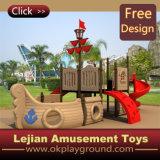 CE Corsair Estilo de moda Outdoor Plastic Playground para Park (12044A)