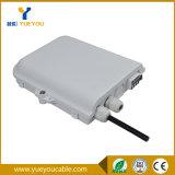 FTTH 상자 8cores 1*8 PLC 쪼개는 도구를 가진 옥외 광섬유 접속점 상자