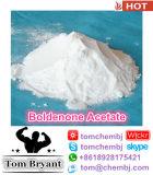 Pó cru esteróide de ganho do acetato de Boldenone do efeito de Qucik do músculo